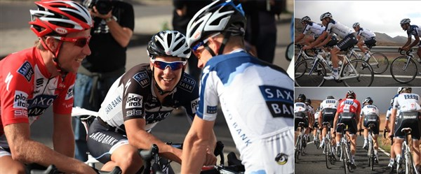 Tacx Real Life Video Training With Saxo Bank - Spain