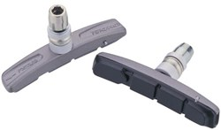 Image of Tektro 876.12 V-Brake Cart Pads and Holders - Pair