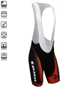 Image of Tenn By Design Pro Mens Padded Cycling Bib Shorts SS16
