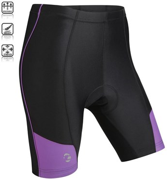 Image of Tenn Ladies Coolflo 8 Panel Padded Cycling Shorts SS16