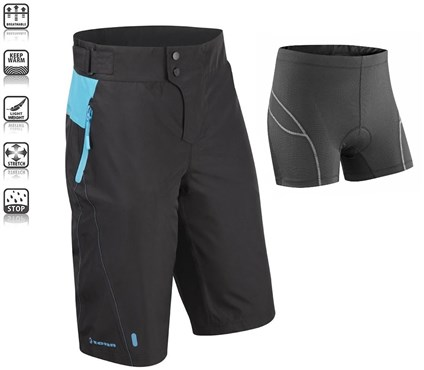 Image of Tenn Protean MTB Cycling Shorts + Padded Boxers Combo SS16