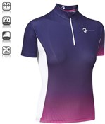 Image of Tenn Womens By Design Short Sleeve Cycling Jersey SS16