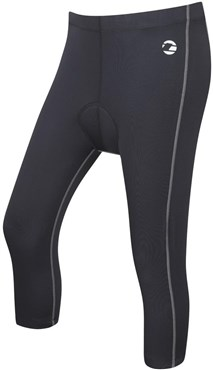 Tenn Womens Velocity 3/4 Cycling Tights With Pad SS16