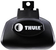 Image of Thule 757 Railing Rapid System Foot Pack For Cars With Roof Rails Roof Bars
