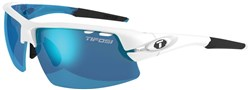 Image of Tifosi Eyewear Crit Half Frame Interchangeable Clarion Lens Cycling Sunglasses 2017