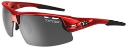 Image of Tifosi Eyewear Crit Half Frame Metallic Red Cycling Sunglasses 2017