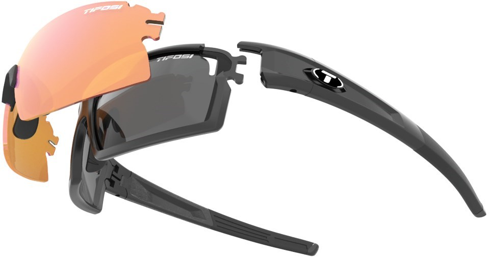 Tifosi Eyewear Pro Escalate Sheild and Full Sunglasses