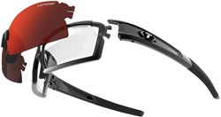 Image of Tifosi Eyewear Pro Escalate Shield and Full Clarion Sunglasses