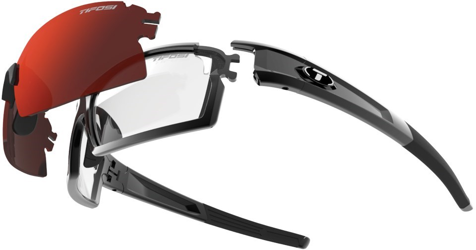 Tifosi Eyewear Pro Escalate Shield and Full Clarion Sunglasses