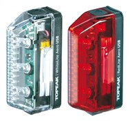 Image of Topeak Aero Combo USB Rechargeable Light Set