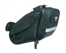 Image of Topeak Aero Wedge DX Quick Clip Saddle Bag - Small