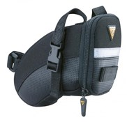 Image of Topeak Aero Wedge Saddle Bag With Straps - Large