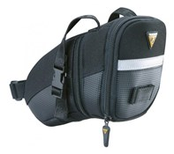 Image of Topeak Aero Wedge Saddle Bag With Straps - Medium