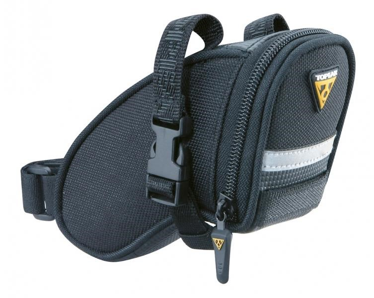Topeak Aero Wedge Saddle Bag With Straps - Micro