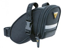 Image of Topeak Aero Wedge Saddle Bag With Straps - Small