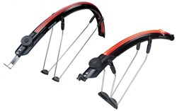 Topeak DeFender iGlow X Mudguard Set