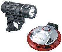 Image of Topeak Highlite Combo HPX Lightset