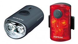 Image of Topeak Mini USB Combo Light Set