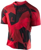 Image of Troy Lee Designs Ace 2.0 XC Chop Block Short Sleeve Cycling Jersey