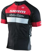 Image of Troy Lee Designs Ace 2.0 XC SRAM TLD Racing Team Short Sleeve Cycling Jersey