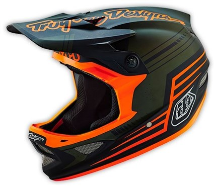 Image of Troy Lee Designs D3 Berzerk Composite Full Face MTB Mountain Bike Helmet 2016