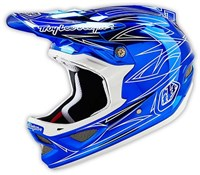 Image of Troy Lee Designs D3 Pinstripe 2 Composite Full Face MTB Mountain Bike Helmet 2016