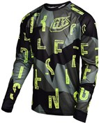 Image of Troy Lee Designs Moto Chop Block Long Sleeve Cycling Jersey