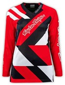 Image of Troy Lee Designs Moto Metric Womens Long Sleeve MTB Cycling Jersey SS16