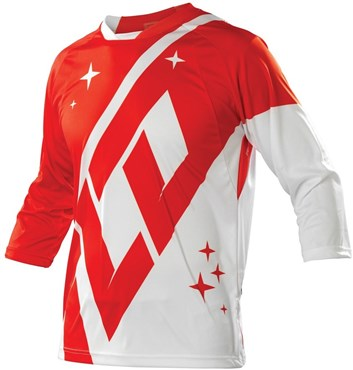 Image of Troy Lee Designs Ruckus 3/4 Sleeve MTB Cycling Jersey 2015