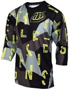 Image of Troy Lee Designs Ruckus Chop 3/4 Three Quarter Sleeve Cycling Jersey