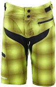 Image of Troy Lee Designs Skyline Plaid Womens MTB Cycling Shorts SS16