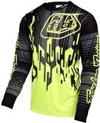 Image of Troy Lee Designs Sprint Code Long Sleeve Cycling Jersey