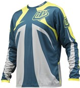 Image of Troy Lee Designs Sprint Reflex Youth Long Sleeve MTB Cycling Jersey SS16