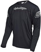 Image of Troy Lee Designs Sprint Solid Long Sleeve Cycling Jersey