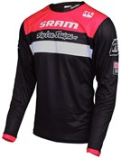 Image of Troy Lee Designs Sprint Sram TLD Racing Team Youth Long Sleeve Cycling Jersey