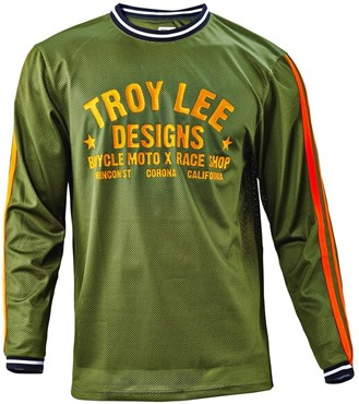 Image of Troy Lee Designs Super Retro Long Sleeve MTB Cycling Jersey SS16