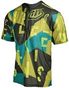 Image of Troy Lee Designs Terrain Chop Block Short Sleeve Cycling Jersey