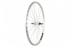 Image of Tru-Build 700c Mach 1 240 Alloy Rim Rear Wheel - Screw On Freewheel Fitting