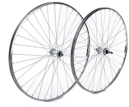 Image of Tru-Build Front wheel 27 Inch Alloy Rim Alloy Nutted Hub