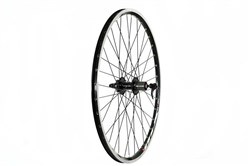Image of Tru-Build Mach 1 MX Rim Black, 8/9 Speed Cassette Q/R Axle Rear Disc Wheel