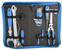 Image of Unior Set Of Bike Tools 20 Pcs In Bag - 1600A7