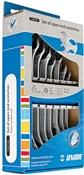 Image of Unior Set Of Open End Wrenches In Carton Box - 110/1CS