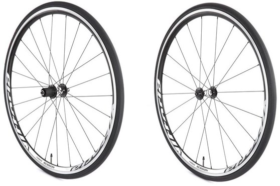 Image of Vittoria Session Training Alloy Clincher 11spd SRAM/Shimano Quick Release Wheelset