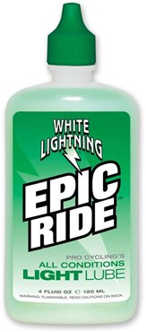 Image of White Lightning Epic Ride Squeeze Bottle