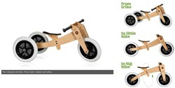Image of Wishbone 3in1- Original 12W 2017 Kids Balance Bike
