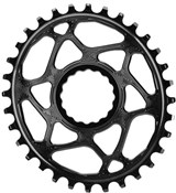 Image of absoluteBLACK RaceFace Cinch Direct Mount Oval Chainring - 6mm Offset