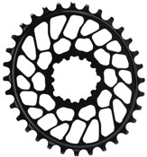 Image of absoluteBLACK Sram Direct Mount BB30 Oval Chainring N/W - Flat