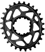 Image of absoluteBLACK Sram Direct Mount GXP Oval Chainring N/W